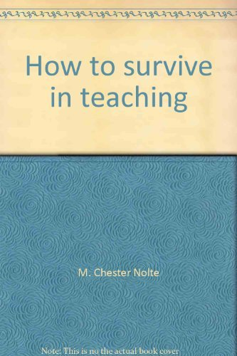 How to survive in teaching: The legal dimension : how to anticipate and avoid action that can get you in trouble