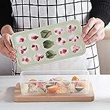 Samoii Handmade DIY Mold Fruit Shaped Ice Cube Tray 15 Cubes Jelly Chocolate Mold Ice Cream Bar Mould Summer Hot Supply