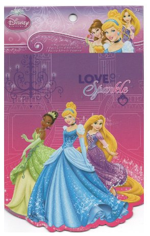 Disney Princess 5 Page Sticker Book Love to Sparkle (Belle, Ariel, Snow White, Rapunzel, Aurora, Tiana) Preschool Reward Sticker Book (Beauty and the Beast, The Little Mermaid, Sleeping Beauty and More)
