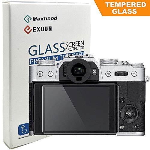 Fujifilm X-T10 XT10 X-T20 X-E3 Tempered Glass Screen Protector, Poyiccot Optical 9H Hardness 0.3mm Ultra-Thin DSLR Camera LCD Tempered Glass for Fujifilm X-T10, X-T20, X-E3 Digital Camera ()