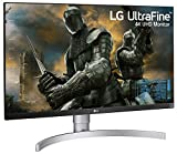 LG 27UK650-W 27 Inch 4K UHD IPS LED Monitor with