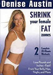 Leading fitness guru Denise Austin guides you through this workout intended to shrink those fat cells on the most problematic female areas. 2003/color/40 min/NR/fullscreen.
