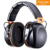 Ear Muffs Noise Cancelling, Tacklife Shooters Hearing Protection Ear Muffs,Folding-Padded Head Band Ear Cups, SNR 34dB Professional Ear Defenders   HNRE1