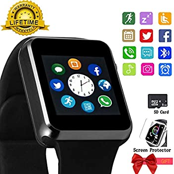Amazon.com: Smart Watch Touchscreen SmartWatch Phone with ...