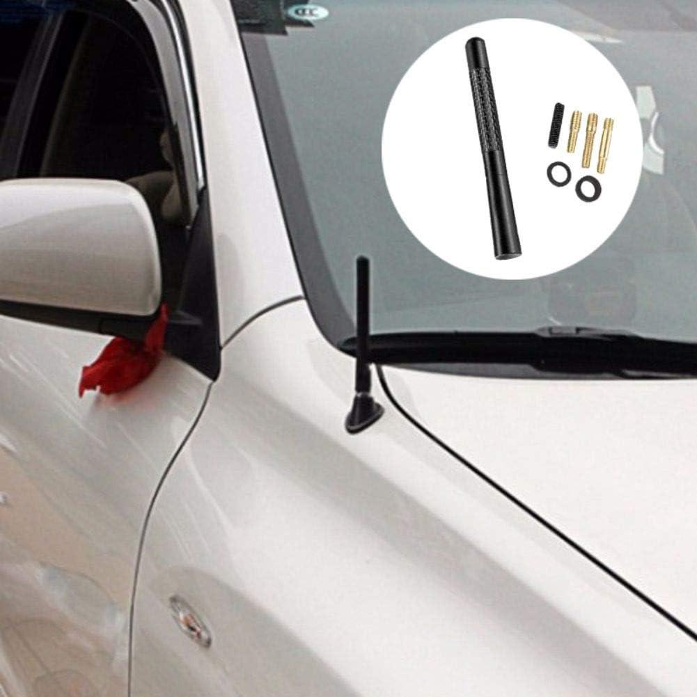 TEEKOO Antenne Radio en Fibre de Carbone pour Ford Focus 2 3 4 MK2 MK3 MK4 Kuga Ecosport Fiesta