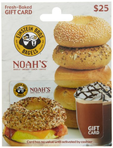Einstein Bros/ Noah Bagels Gift Card $25 (Bros Bros)