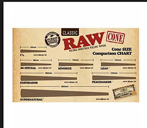 1400 Raw Classic 98 Special Pre Rolled Cones - Includes a TSC Sticker by RAW (Image #3)