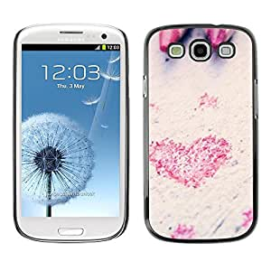 LECELL -- Funda protectora / Cubierta / Piel For Samsung Galaxy S3 I9300 -- Love Pencil Heart --