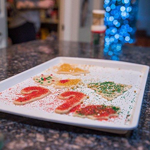 5-Piece CeramaBake White Ceramic Non-Stick Bakeware Cooking Set by RANGE KLEEN