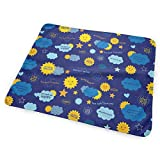My Nursery Crib and Changing Station Dy27sdsmat You are My Sunshine Happy Portable Diaper Changing Pad - Makes Any Surface A Changing Station - Great Baby Showers - Ideal Your Infant, Newborn Toddler