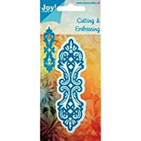 Joy! Crafts Cut and Emboss Die, 4.75 by 1.5-Inch, Lace Edge