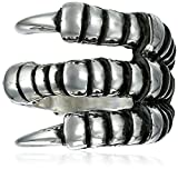 King Baby Women's Small Raven Claw Ring, Size 6