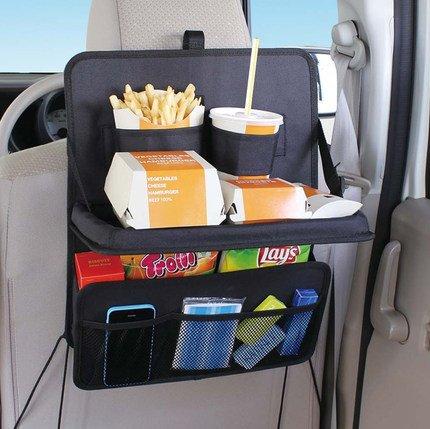 LemonBest® Auto-Rücksitztasche, Rücksitz-Organizer, Utensilien-Tasche - Halter für DVD Players, Tablets, Multimedia, Kinderwagen-Organiser, Reise- oder Travel-Organiser