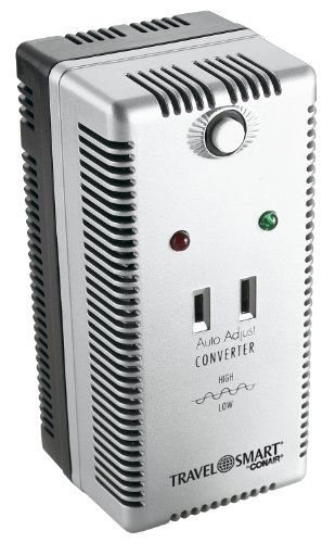 Travel Smart by Conair 2000-Watt Auto Adjust Smart Converter Set