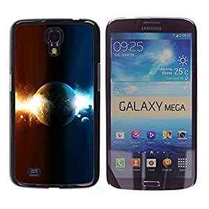 All Phone Most Case / Oferta Especial Duro Teléfono Inteligente PC Cáscara Funda Cubierta de proteccion Caso / Hard Case Samsung Galaxy Mega 6.3 // Dual Planet