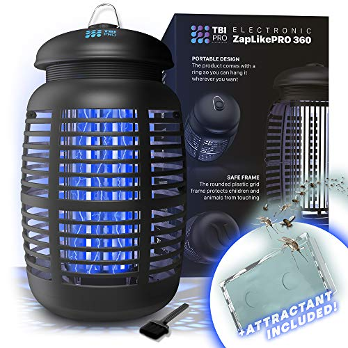 [2-in-1] Bug Zapper & Attractant