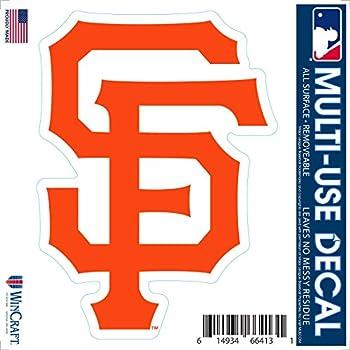 San Francisco Giants Vinyl Sticker Decal Baseball MLB Full Color CAD Cut