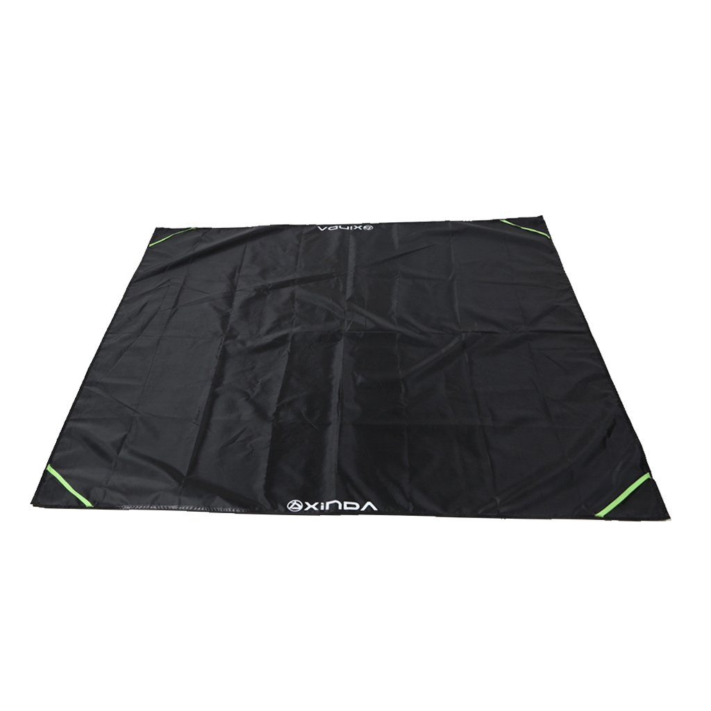 MagiDeal Black Strong Durable Rope Deployment Ground Sheet Mat Carry Bag for Rock Climbing Mountaineering Caving Gear Equipment