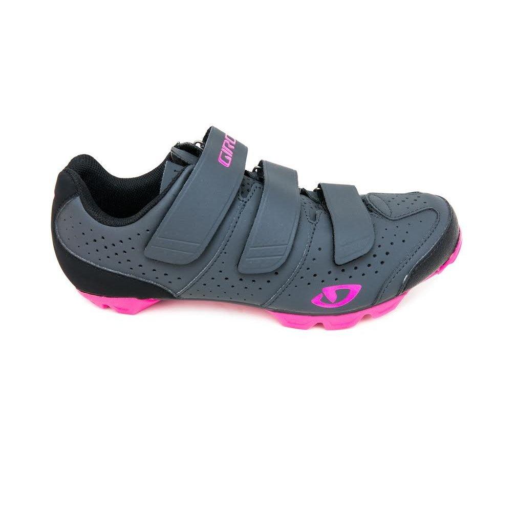 Giro Riela R Womens MTB Shoes B0746M81LM 40|Dark Shadow/Bright Pink