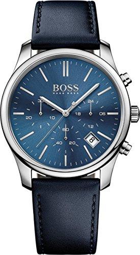 Hugo Boss Men's 1513431 Blue Leather Quartz Watch (Hugo Leather)