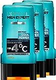 L'Oréal Men Expert Cool Power Fraicheur Extrême Gel Douche pour Homme 300 ml - Lot de 3