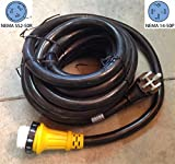 50amp rv cord - TruePower 6/3+8/1 36 foot 50 amp RV Power Cord w/ Twist Lock Locking Connector