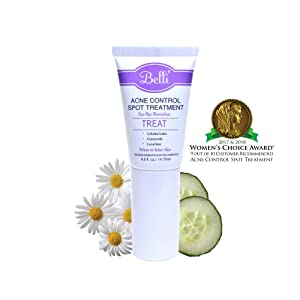 Belli Acne Control Spot Treatment – Clears Blemishes and Helps Prevent New Breakouts – OB/GYN and Dermatologist Recommended – 0.5 oz