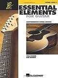 Essential Elements for Guitar: Comprehensive Guitar Method, Guitar Book 1