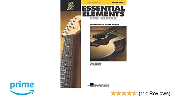 Essential Elements for Guitar - Book 1: Comprehensive Guitar Method ...