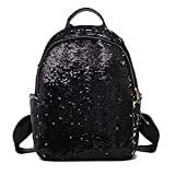 GSYDXKB Glitter Sequin Backpacks Women Summer