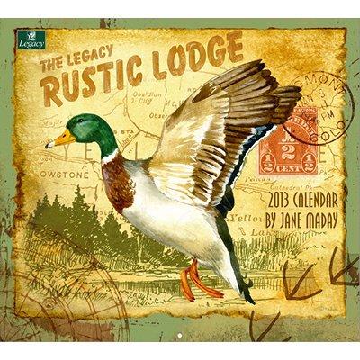 2013 Calendar Rustic Lodge 2013 Wall Calendar