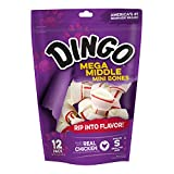 Dingo Mini Double Meat Bones, 12-Count
