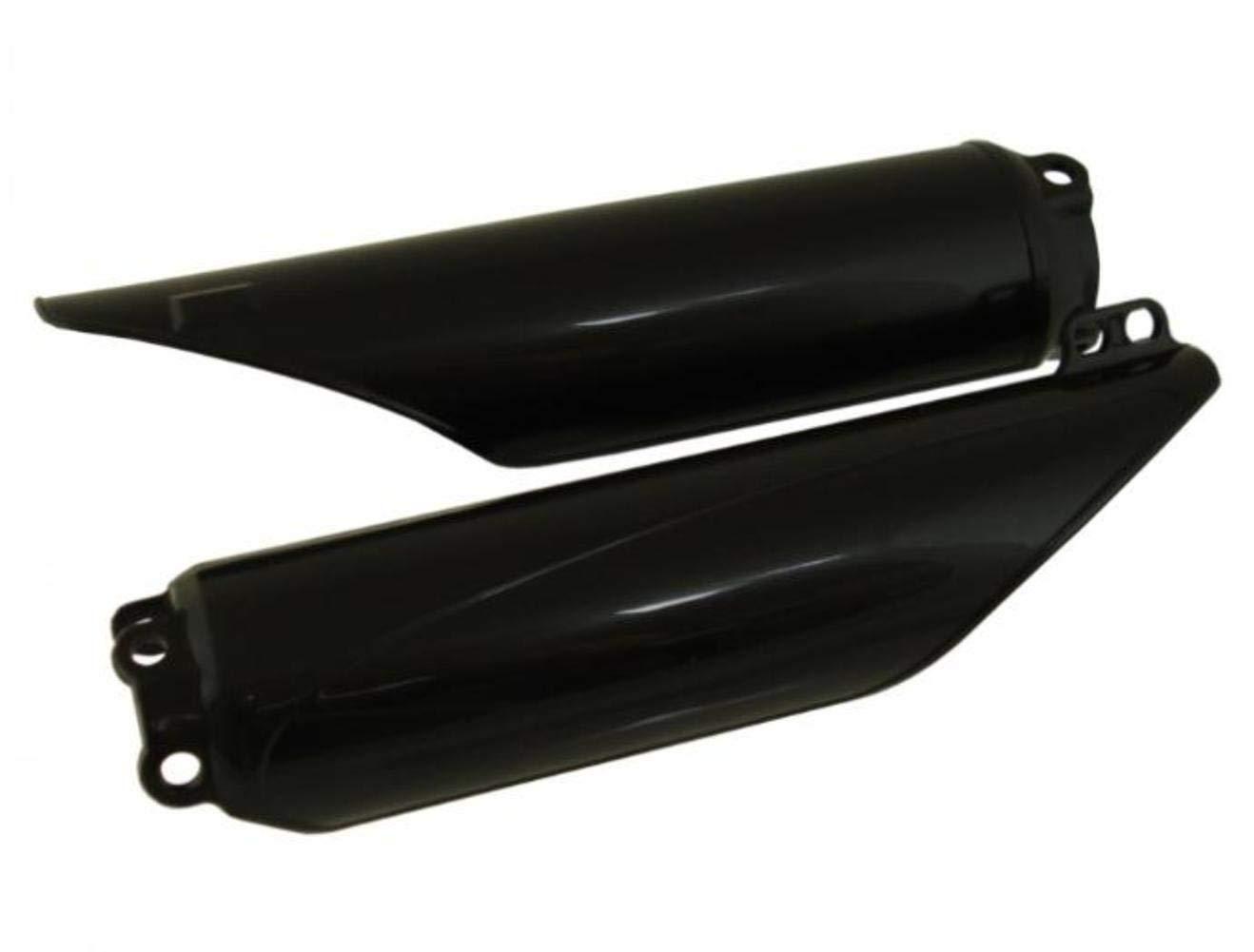 06-08 KAWASAKI KX250F Polisport Fork Cover Set BLACK