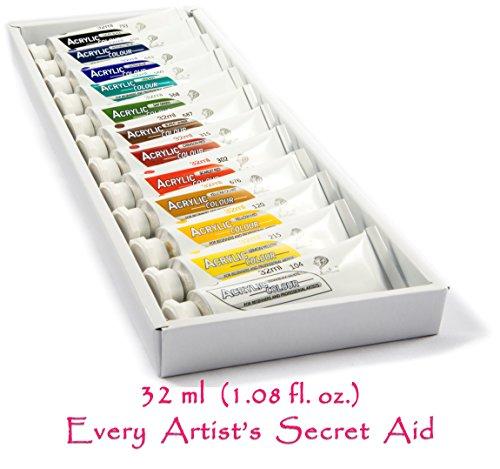Daveliou Acrylic Paint Set Pigments
