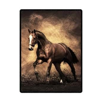 Custom playa alfombrillas duradero y cómodo correr caballo manta de playa 78x 60cm