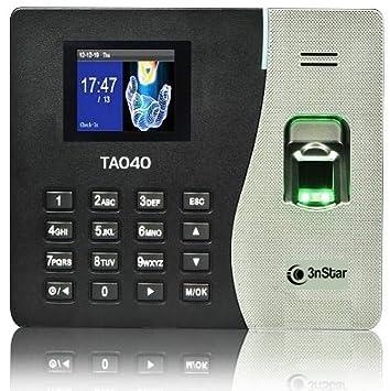 3nStar TA040 Negro, Plata Lector de Control de Acceso - Lectores de Control de Acceso