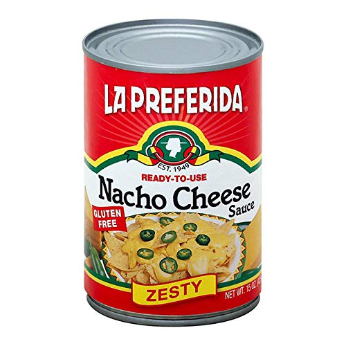 LA PREFERIDA SAUCE NACHO CHS, 15 OZ by LA PREFERIDA (Image #2)