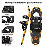 ENKEEO All Terrain Snowshoes Light Weight