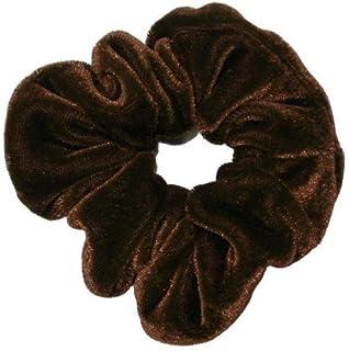 9b28ab7e4363 Shiny Nylon/Lycra hair scrunchie (Flo Pink): Amazon.co.uk: Clothing