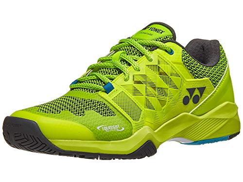 YONEX Power Cushion Sonicage Mens Tennis Shoe - Lime/Yellow - Size 9.5