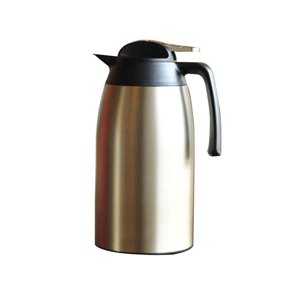 FYCZ Kaffee Krug Isolierung Topf, 2.1L Edelstahl Doppelwandige Vakuum isoliert Pitcher große Thermoskanne heißen Teekanne