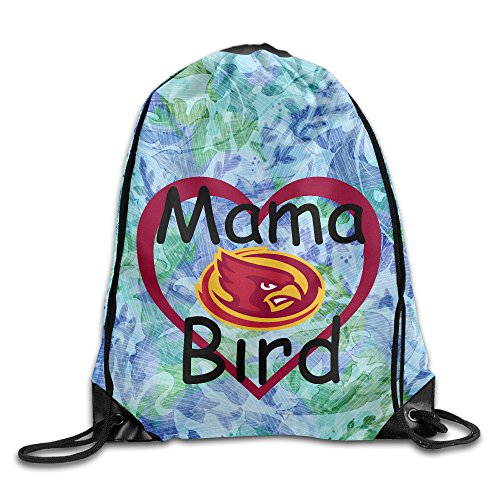 PKTWO Cinch Pack Iowa State University Mama Bird Hiking Drawstring (Iowa State Mascot Costume)