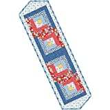 Kim's Cause Collection Hi-De-Ho Log Cabin Table Runner Pod Quilt Kit Maywood Studio