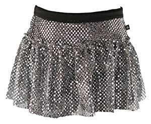 Gunmetal Sparkle Running Skirt XS