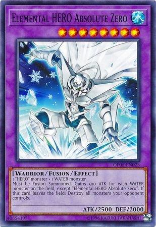 Elemental HERO Absolute Zero - OP05-EN023 - Common - Unlimited Edition - OTS Tournament Pack 5