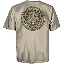 Chris Kyle Frog Foundation Patriot Patch American Sniper T-Shirt (S-3XL)