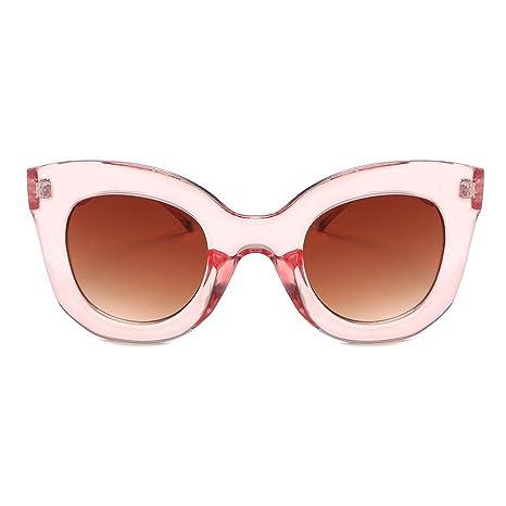 c047212b73 AOLVO Gafas de Sol Mujer, Estilo Vintage, con Forma Cuadrada, Gafas de Sol