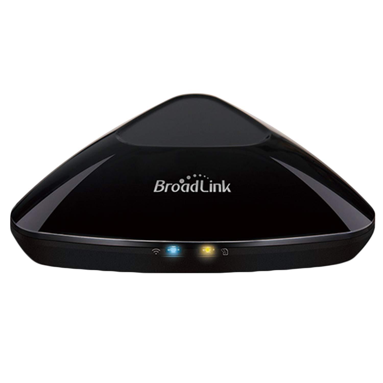 Sopear RM Pro+ ユニバーサル WiFi IR RF スマートリモコン TV用 エアコン DVD シアター 電気カーテンライト ホームデバイス USプラグ   B07JGYFLV5
