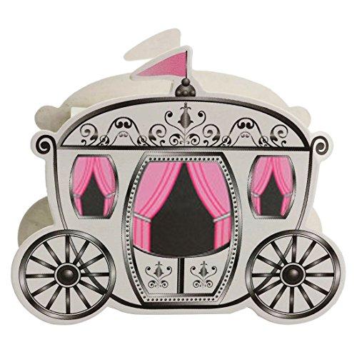 Pumpkin Carriage Gift Box - TOOGOO(R)25Pcs Miniature Paper Pumpkin Carriage Candy Gift Box For Princess Wedding Party Guests Present Cinderella Package Europe (Pumpkin Gift)