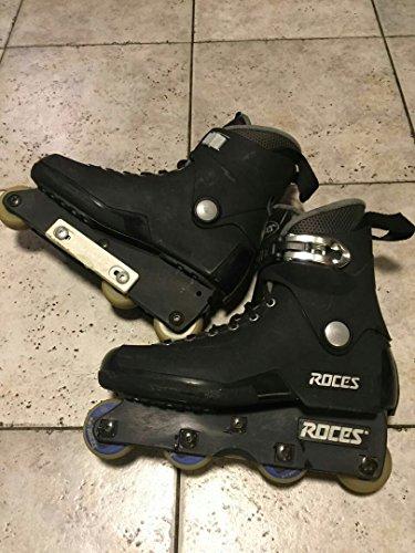 Roces Mens M12 UFS Aggressive Street Italian Inline Skates Black 101183 00001-10